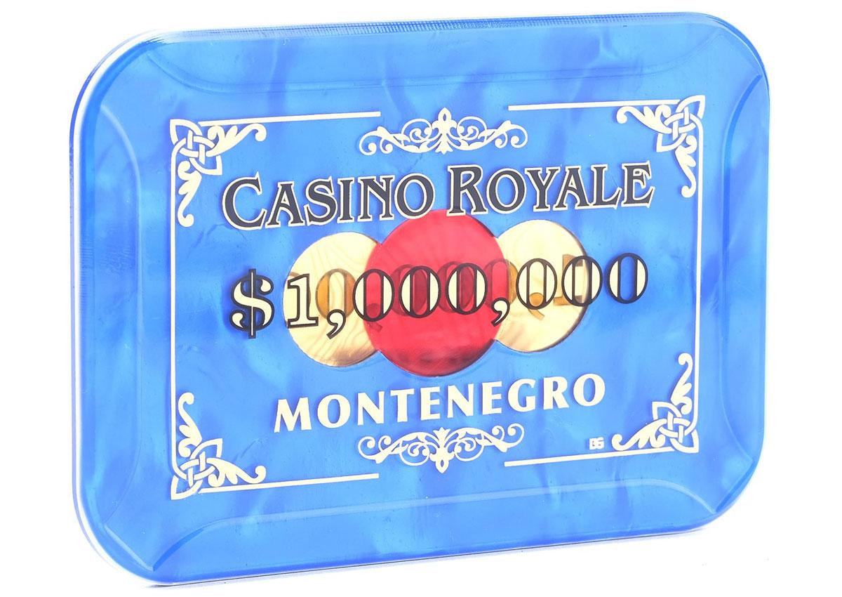 casino royale montenegro 1 million plaque