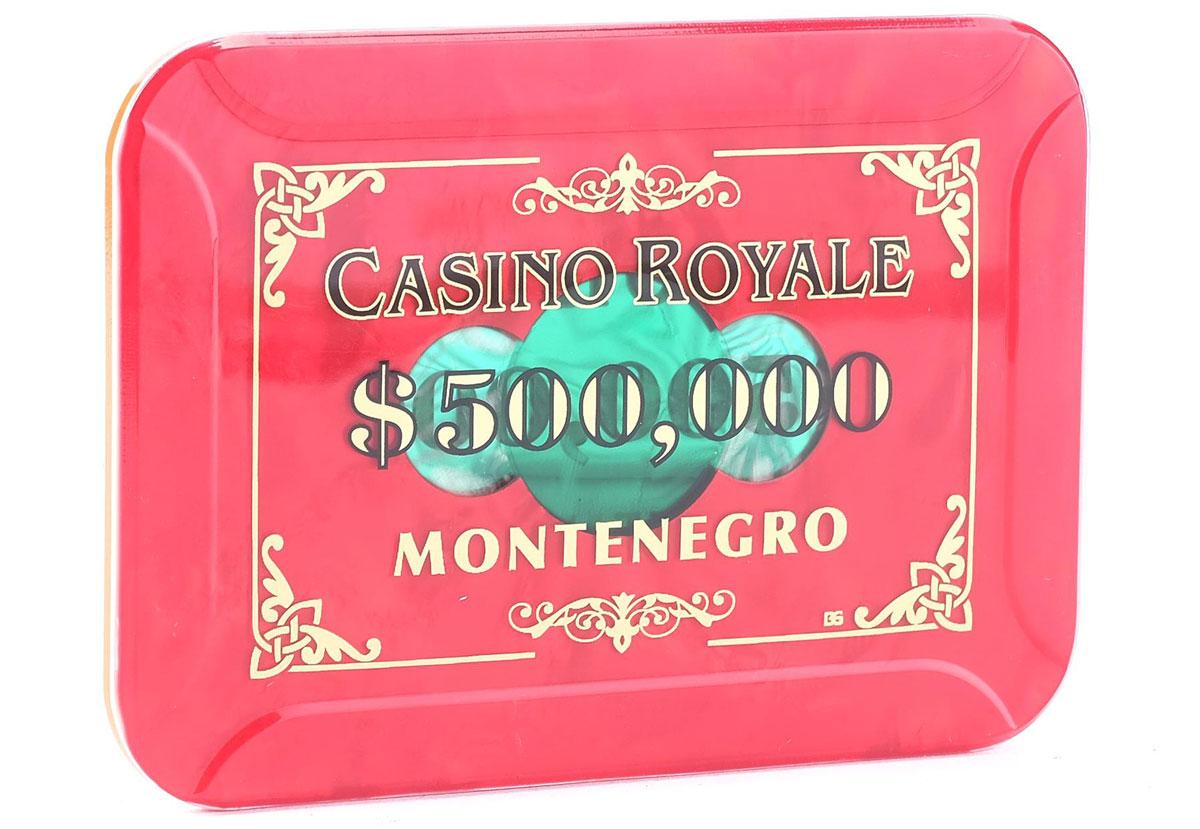 casino royale plaque 500000 auction