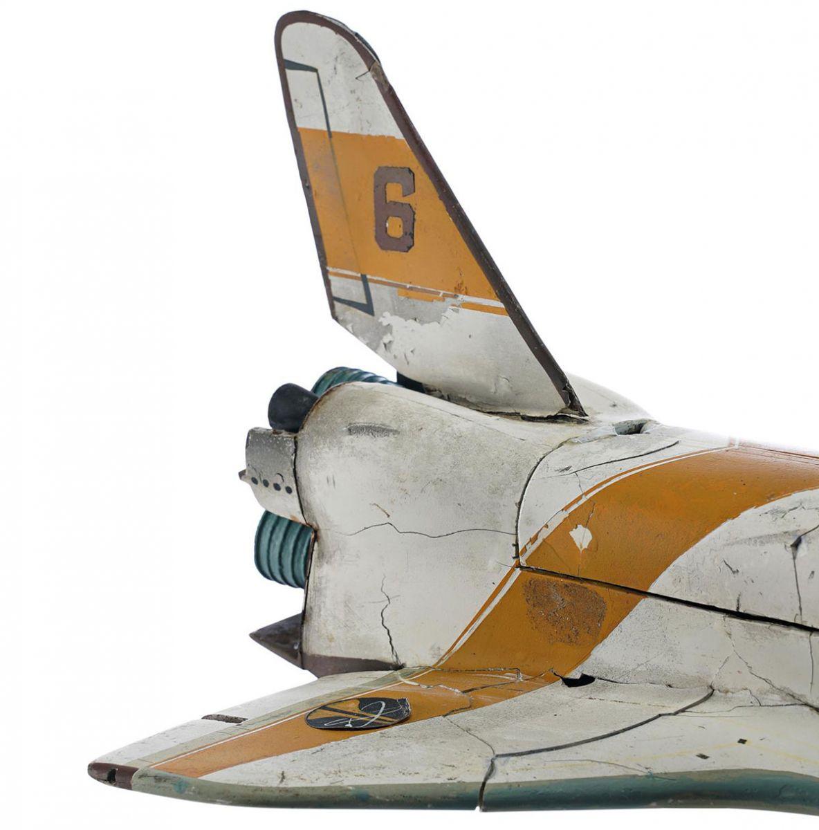 moonraker shuttle tail detail auction model
