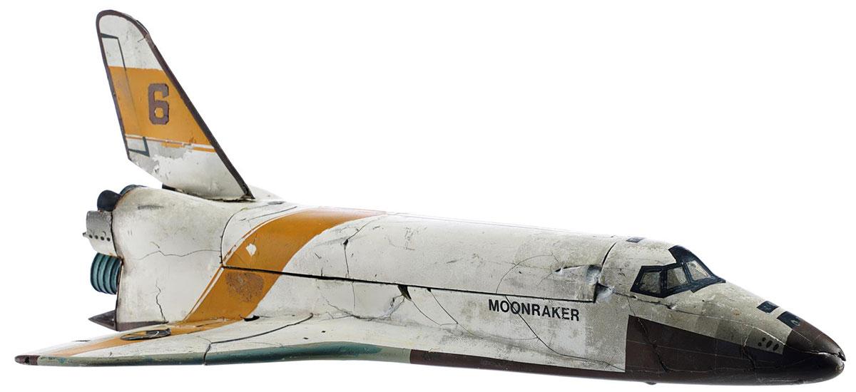 moonraker shuttle auction model