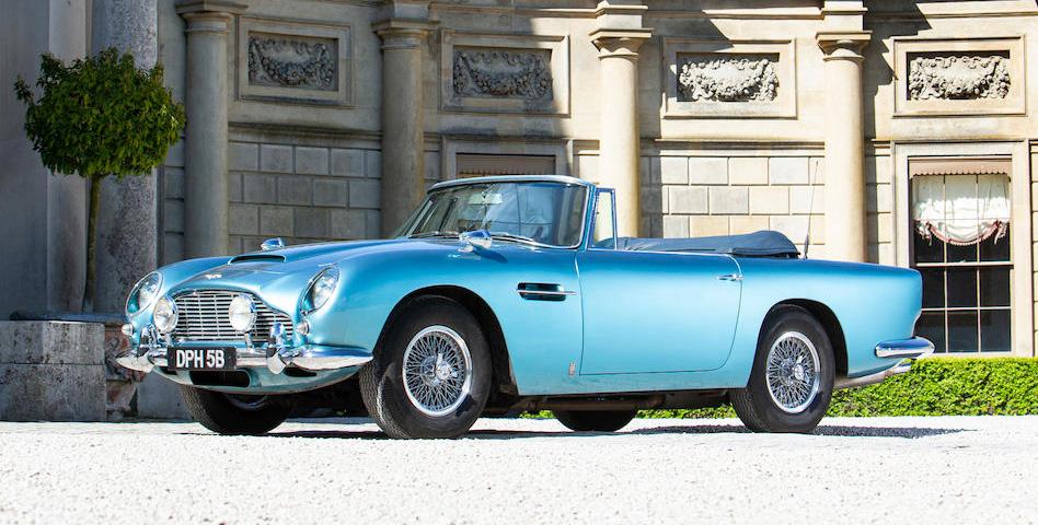 Aston Martin db5 convertible auction Bonhams