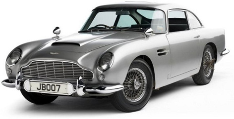 Original James Bond Aston Martin Db5 Auctioned For 2 1 Million Bond Lifestyle