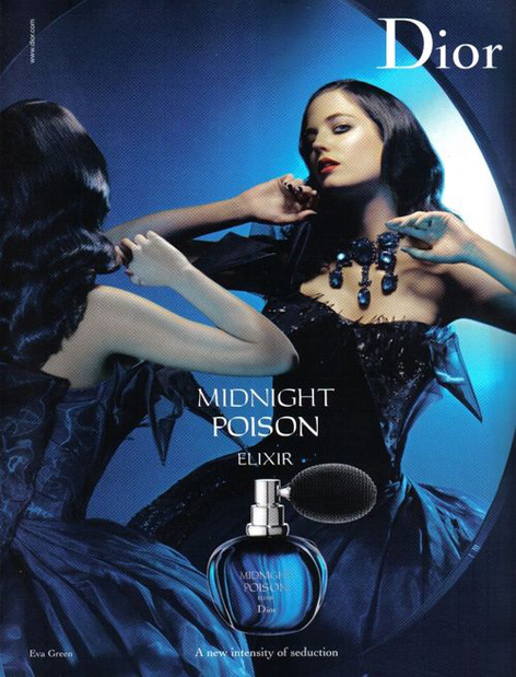 eva green dior midnight poison