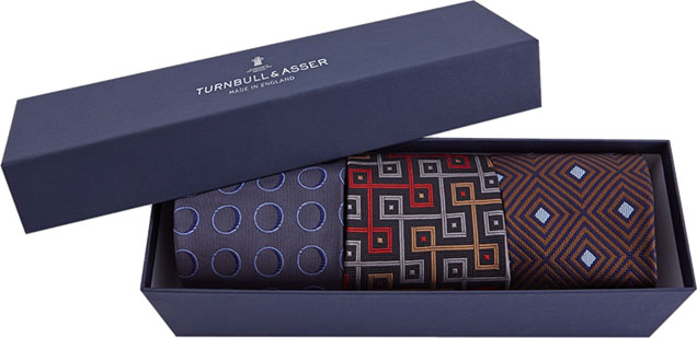 Turnbull & Asser Necktie collectors box