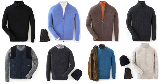 N Peal James Bond 007 Cashmere collection