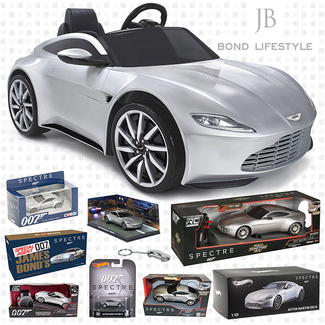 Aston Martin DB10 die-cast models