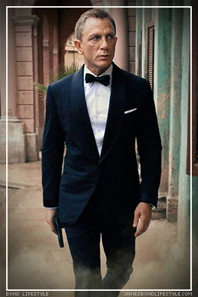 James Bond tuxedo outfit No Time To Die