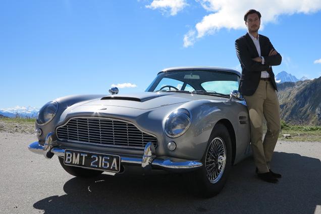 Remmert van Braam James Bond Lifestyle Aston Martin