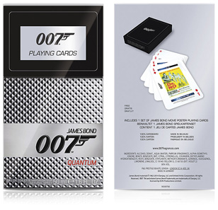 Quantum fragrance playing cards