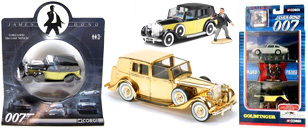 Rolls-Royce Goldfinger scale models