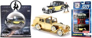 Rolls-Royce Goldfinger scale models