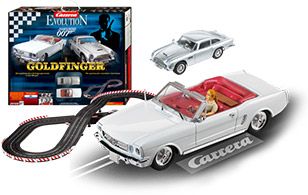 Carrera Ford Thunderbird Goldfinger