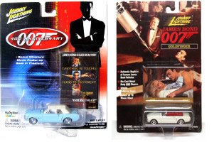 Ford Mustang Johnny Lightning James Bond