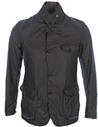 barbour commander navy jacket
