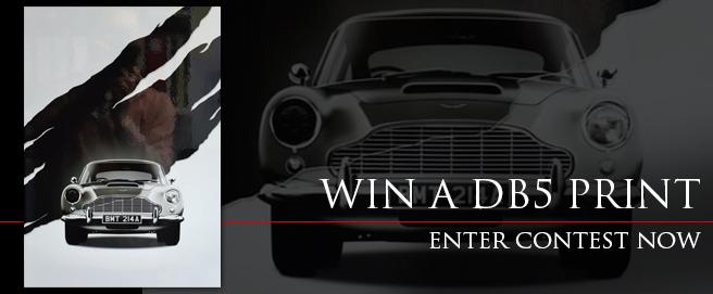 Win an Aston Martin DB5 print HP