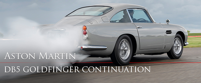 First Aston Martin DB5 Continuation model photos and video HP
