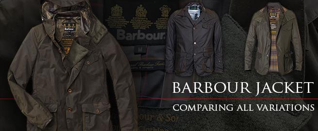 Barbour jacket comparison HP