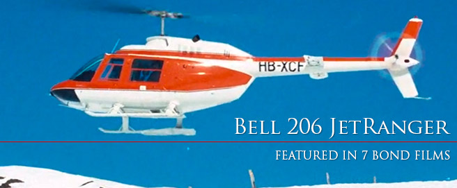 HP Bell 206 JetRanger helicopter