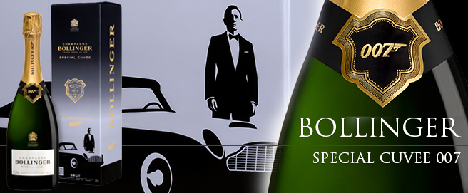 Bollinger Special Cuvée 007 Limited Edition HP
