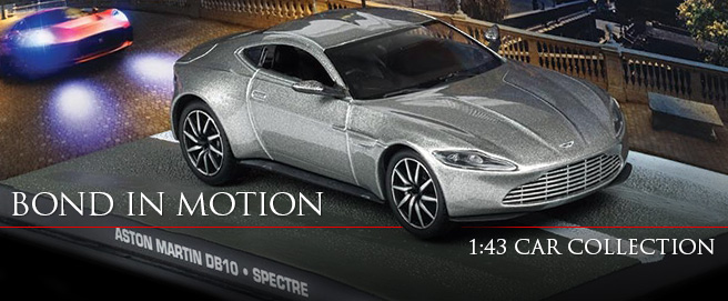 Bond in Motion car collection HP