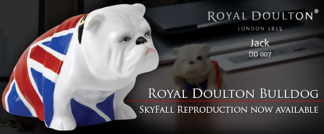 Royal Doulton Bulldog Union Jack reproduction now available