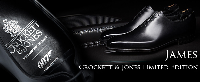 Crockett & Jones release James 007 Limited Edition shoe HP