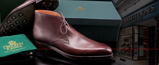 Visiting Crockett & Jones in London