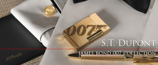 S.T. Dupont James Bond 007 Collection 2018-2019 HP
