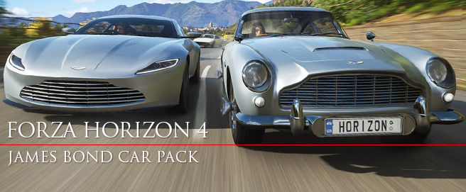 Forza Horizon 4 Ultimate Edition James Bond car pack