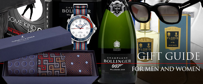 James Bond Lifestyle Gift Guide 2018