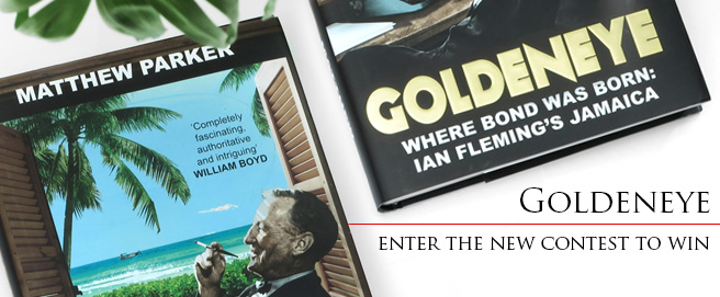 Enter the contest to win Goldeneye