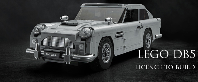 Lego Aston Martin DB5 James Bond creator