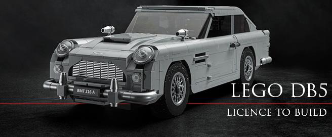 Lego Aston Martin DB5 James Bond creator