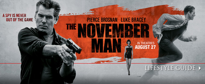 The November Man Lifestyle guide