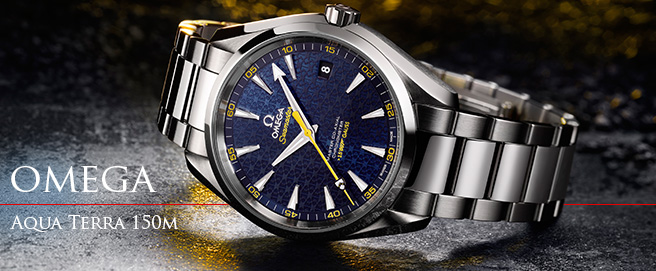 New Omega Aqua Terra Limited Edition James Bond 2015