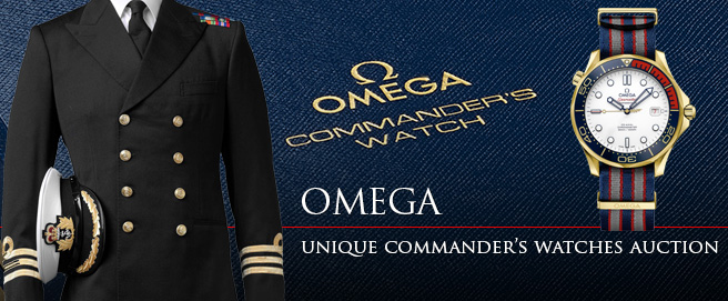 Omega Commander's watch auction HP