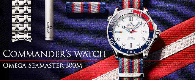 Omega launches Omega Seamaster Commander HP