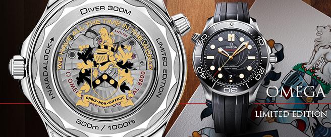 Omega Omega Seamaster 300 James Bond Limited Edition celebrating 50 Years of On Her Majesty's Secret Service