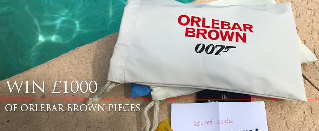 Enter the Bond Lifestyle Orlebar Brown contest HP