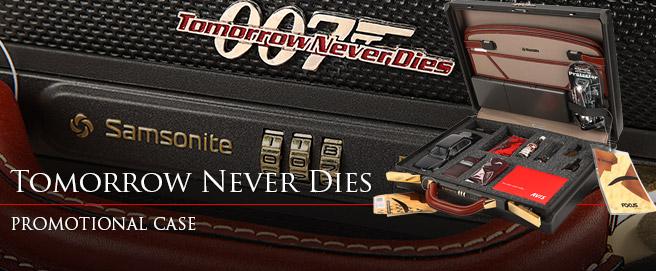 Tomorrow Never Dies Samsonite suitcase promotional gift HP