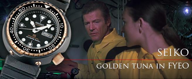 HP Seiko Golden Tuna