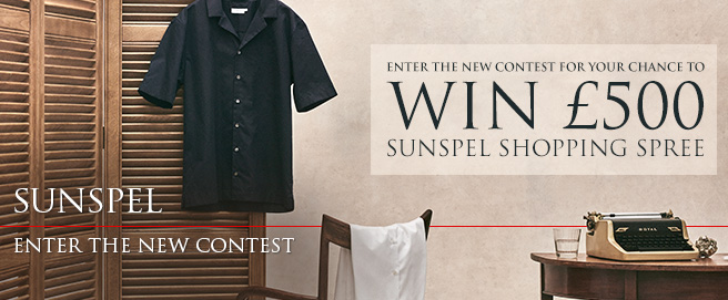 Sunspel Ian Fleming Collection Contest 1 HP