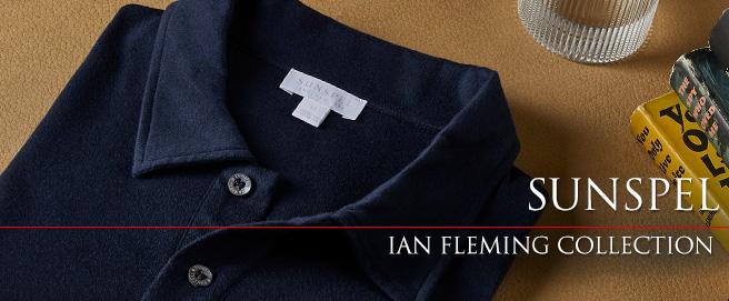 Sunspel Ian Fleming 2021 Autumn Collection