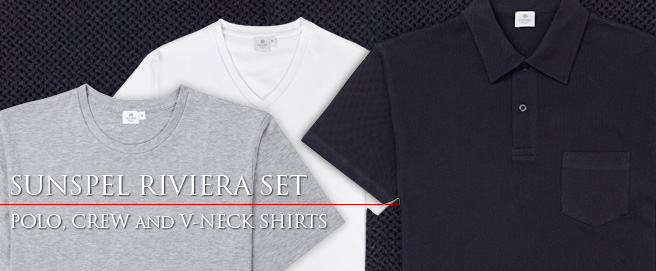 Sunspel Riviera Set now available