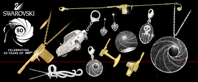 Swarovski James Bond collection now available