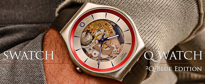 Swatch Q Watch ²Q Blue Edition HP