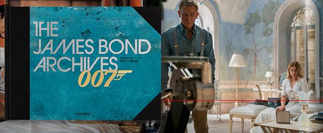New TASCHEN James Bond 007 Archives