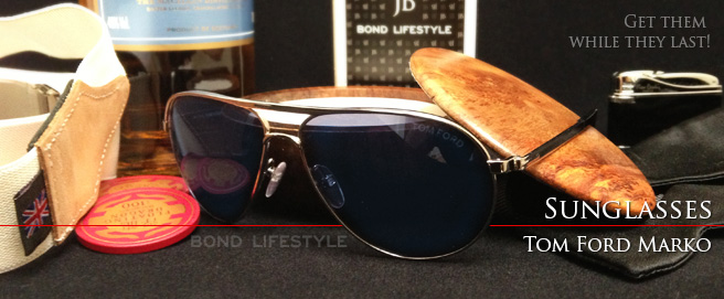 Get the Tom Ford Marko sunglasses seen in SkyFall