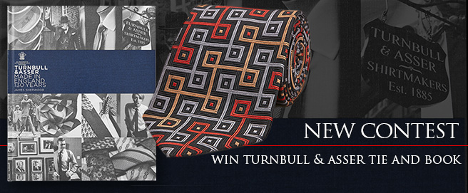 New contest: win a Turnbull & Asser Tie and Book