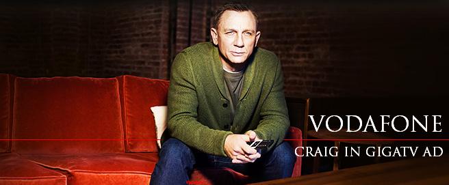 Daniel Craig in Vodafone ad HP